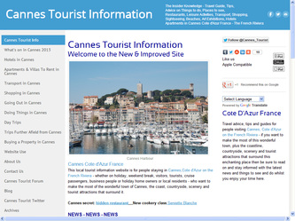 Cannes Tourism